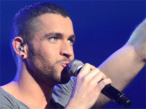 Shayne Ward in concert at Dublins Olympia Theatre, Ireland