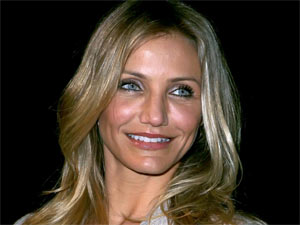 Cameron Diaz at Las Vegas' 2011 CinemaCon where she won Sony Pictures Entertainment's 'Star of the Year' award