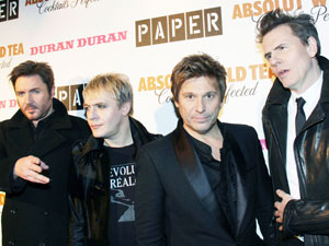 Duran Duran at the 2011 Paper Magazine Beautiful People Party