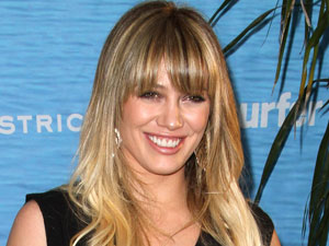 Hilary Duff at the Los Angeles premiere of 'Soul Surfer'