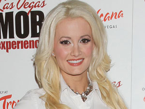 Holly Madison at the Las Vegas MOB Experience Grand Opening Night