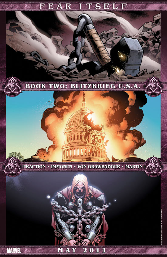 Fear Itself, Book Two, Blitzkrieg USA