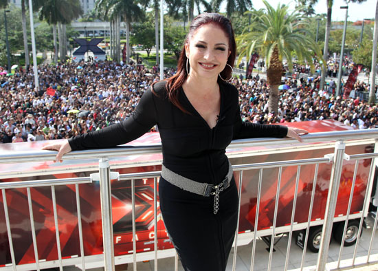 Gloria Estefan at the X Factor Miami Auditions