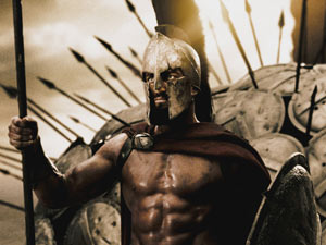 Leonidas (Gerard Butler) from '300'