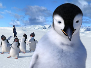 A still from 'Happy Feet'