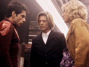 Ben Stiller, David Bowie and Owen Wilson in 'Zoolander'