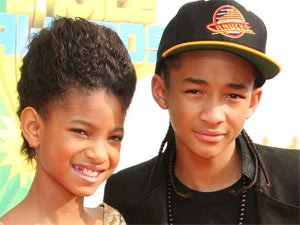 Willow and Jaden Smith at Nickelodeon&#39;s 2011 Kids Choice Awards held in California