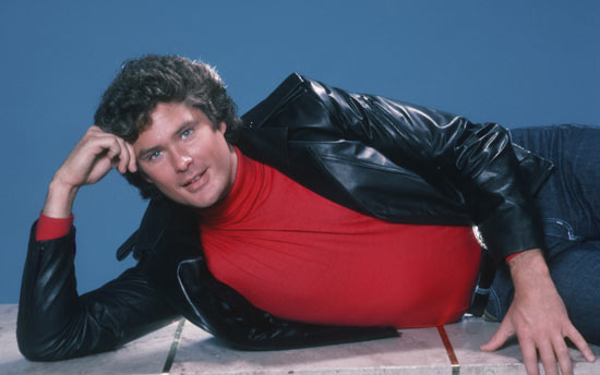 David Hasselhoff as Michael Knight
