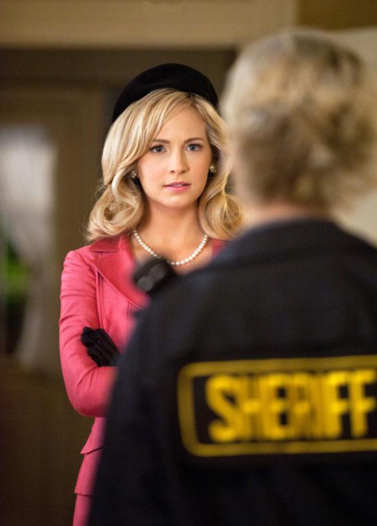 Caroline and Sheriff Forbes