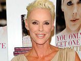 Brigitte Nielsen signs copies of her autobiography 'You Only Get One Life'