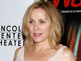 Kim Cattrall at the opening night after party for the Broadway production of 'War Horse'