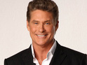 David Hasselhoff jokes about Cheryl Cole's recent departure from The X Factor USA.