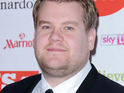 "James Corden says that he went to therapy to stop himself from becoming a ""d***""."