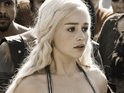 "Emilia Clarke admits that filming a ""mildly lesbian"" scene on Game of Thrones was ""tricky""."