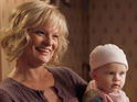 "Martha Plimpton reveals that she likes working on Raising Hope as it is warm without being ""treacly""."