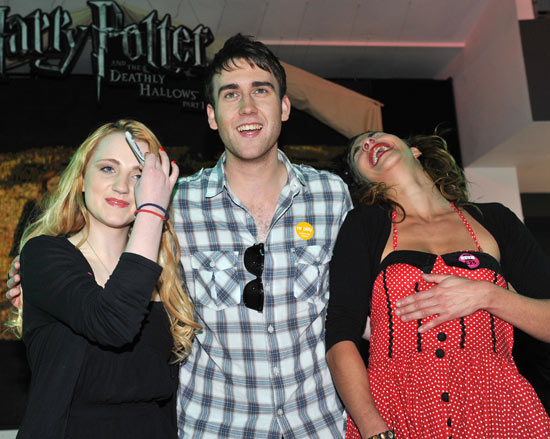 Luna Lovegood, Neville Longbottom and Nymphadora Tonks