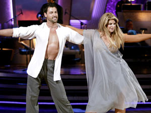 Maksim Chmerkovskiy and Kirstie Alley on Dancing With The Stars