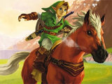 Legend of Zelda Ocarina of Time 3D cover art
