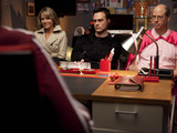 Glee S02E17 'Night of Neglect': Sue recruits Terri, Dustin and Sandy to destroy the glee club.