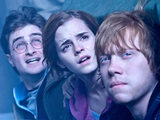 Harry, Hermione and Ron in Harry Potter and the Deathly Hallows: Part 2