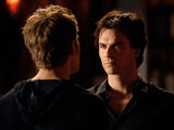 The Vampire Diaries S02E16 'Klaus': Stefan and Damon