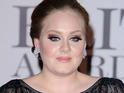 Adele spends a sixth non-consecutive week at number one on the Billboard 200 album chart.