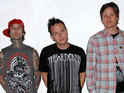Blink-182's Mark Hoppus says tension helped the band record their new album.