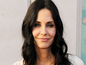 Courteney Cox fronting 'An Evening with Cougar Town' in Hollywood, California