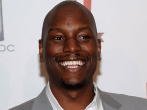 Actor and singer Tyrese Gibson