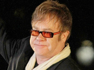 Elton John performing at the 2011 Tribeca Film Festival opening night premiere of &#39;The Union&#39;