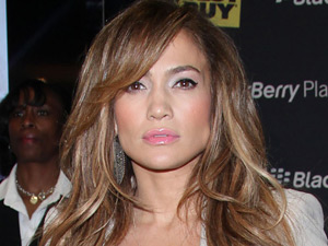 Jennifer Lopez at the launch of the Blackberry PlayBook and her new album &#39;LOVE?&#39;