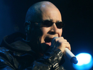 Phil Oakey, The Human League performing live in Amsterdam