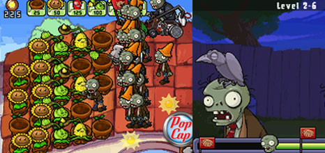 'Plants Vs. Zombies' (DS)