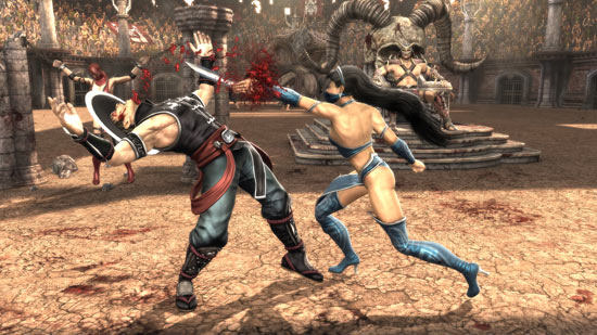 Kitana and Kung Lao