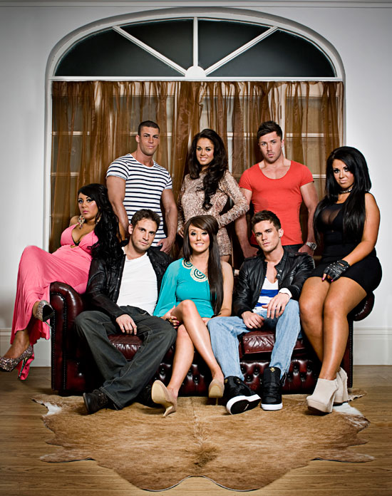 Geordie Shore Cast Group Shot