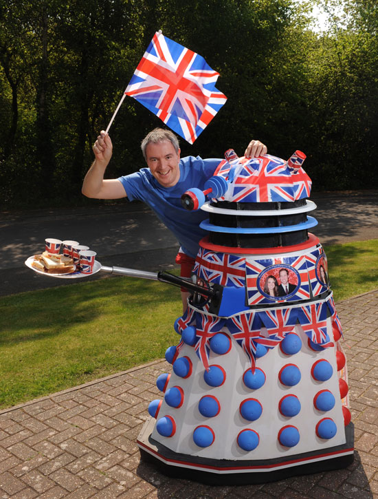 Chris Balcombe's Royal Wedding dalek