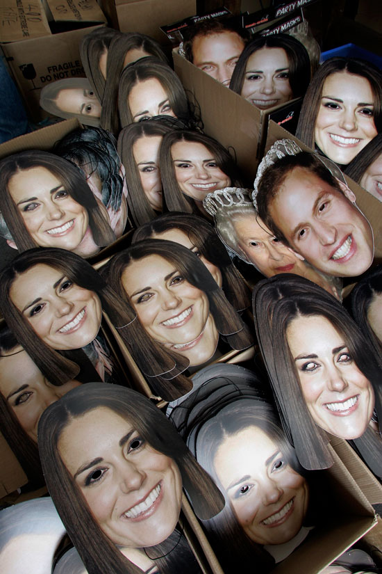 Wills and Kate face masks