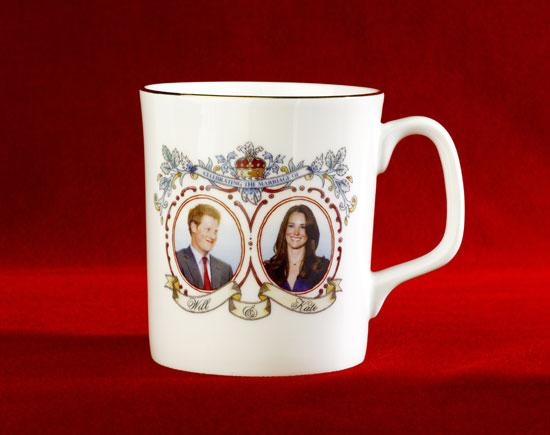 Incorrect souvenir mug