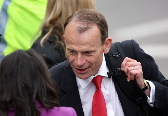 Andrew Marr at royal wedding