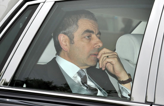 Rowan Atkinson royal wedding
