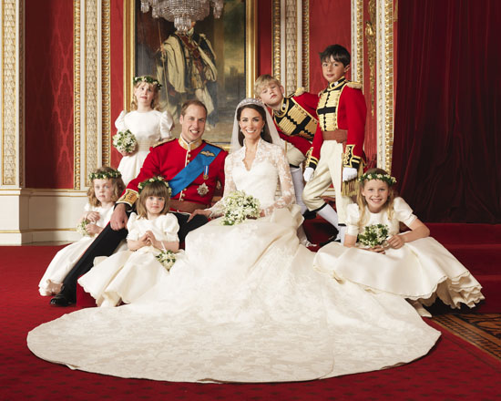 Official Royal Wedding Photographs: Prince William and Kate Middleton
