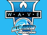 Bluewater Productions 'The Wave' logo