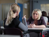 Roxy pleads with her, telling Ronnie that she will get her a new solicitor but Ronnie is adamant that she should stay inside.