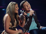 American Idol 270411: Lauren Alaina and Scott McCreery