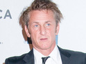"Sean Penn says he admires the Libyan people's resolve in fighting for ""freedom""."