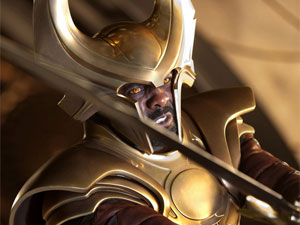 Thor: Heimdall played by Idris Elba