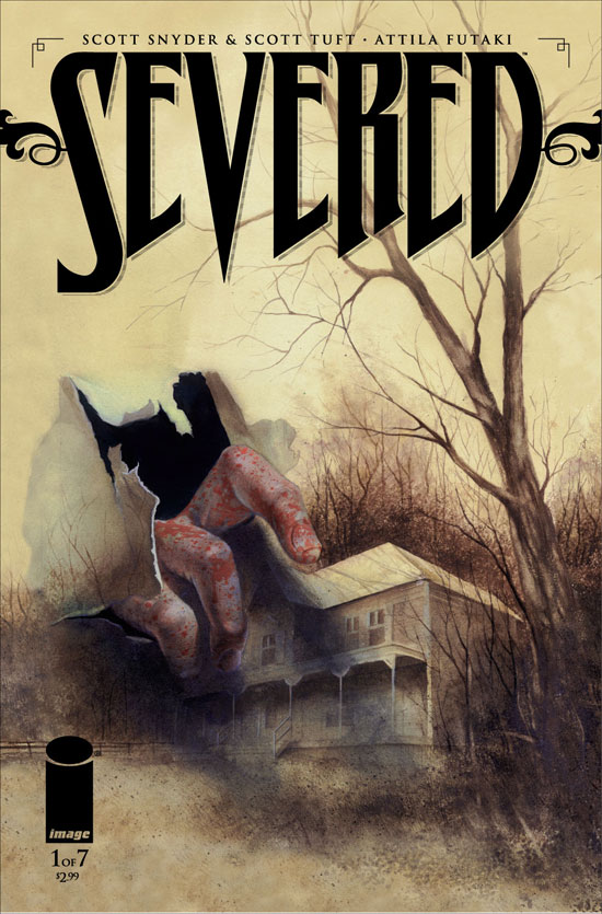 Scott Snyder's 'Severed' artwork