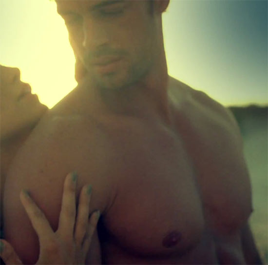 William Levy in the 'I'm Into You' video