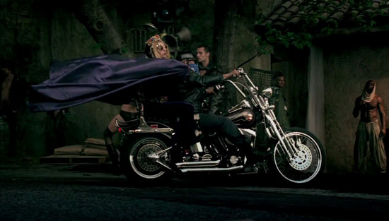 A still from Lady GaGa: 'Judas' official video