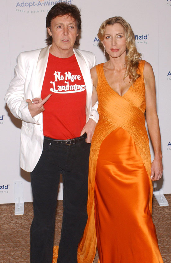 Paul and Heather Mills